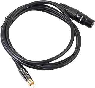 Stecker XLR-Kabel 1x Audiokabel Mikrofon-Verbindungsleitung 3.5-mm-Stecker