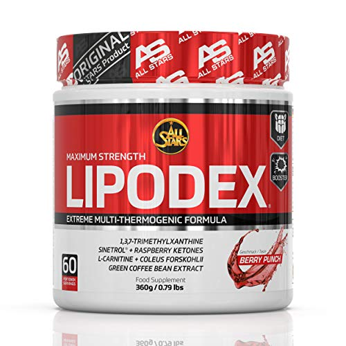 All Stars Lipodex Pulver, Berry Punch, 360 g 3088