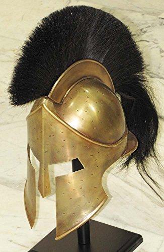 THORINSTRUMENTS (with device) Medieval Spartan Helmet King Leonidas 300 Movie Helmet Replica - Role Play Helm
