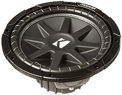 powerful Kicker 43 C104Comp 10 300 W SVC4 Ohm Car Audio Subwoofer Woofer Sub C104