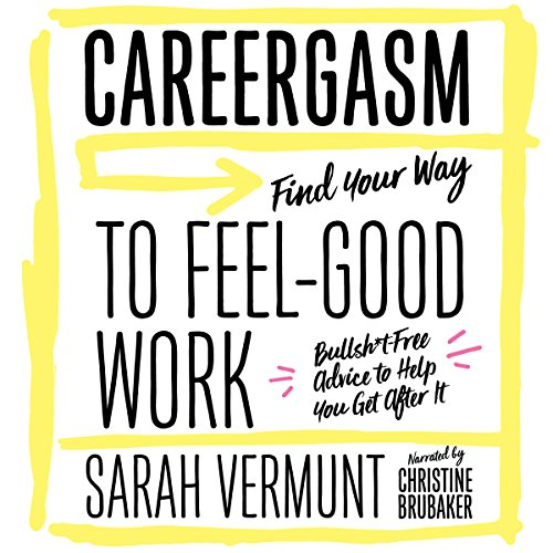 Careergasm audiobook cover art