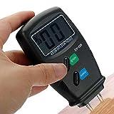 Digital 4 Steel Pin LCD Detector 5%-40% Wood Water Moisture Humidity Meter Garden