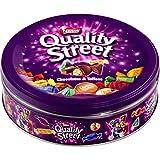 Nestlé Chocolats de Noël QUALITY STREET - Assortiment de Chocolats et Toffees - Boîte Métal de 480g
