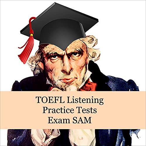 『TOEFL Listening Practice Tests』のカバーアート