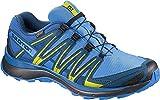 Salomon XA Lite GTX, Zapatillas de Trail Running para Hombre, Azul/Lima (Indigo Bunting/Snorkel Blue/Sulphur Spring), 41 1/3 EU