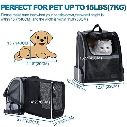 Petsfit Large Expandable Backpack Carrier