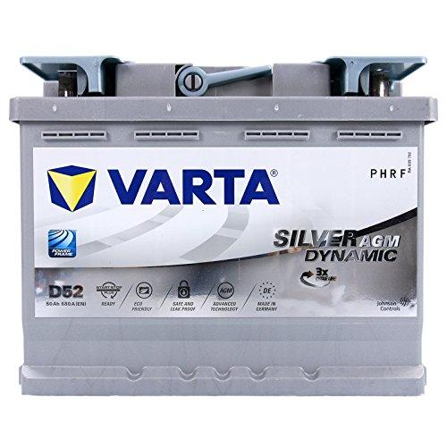 VARTA Silver Dynamic AGM D52 60Ah 12V 680A/EN