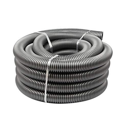 xy Manguera de aspiradora AD-ETER Diámetro Interior de 50 mm Aspirador de vacío Tubo de succión Sellows Hose Tubo de vacío Piezas de Repuesto Manguera de Alta eficiencia (Color : Grey)