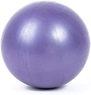 Mini Yoga Pilates Ball Explosion-proof Pvc Fitball For Stability Exercise Training Gym Anti Burst&slip Resistant Straw-Purple