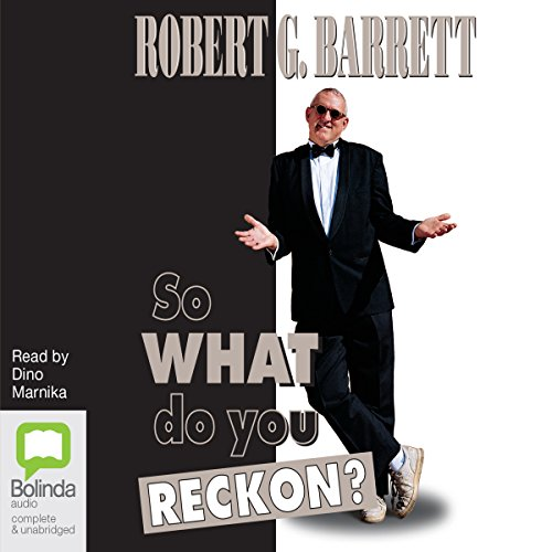 So What Do You Reckon? audiobook cover art