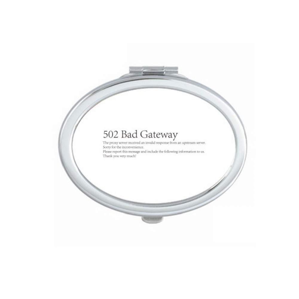 Programmer 502 Bad Gateway Mirror Doub Portable Max 72% OFF Max 59% OFF Makeup Hand Fold