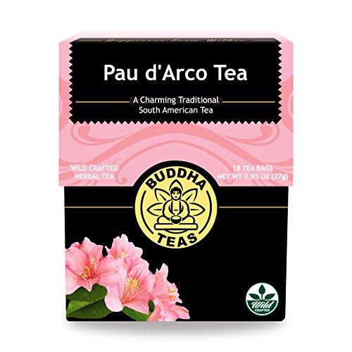 Buddha Teas Pau d'Arco Tea 18 Tea Bags