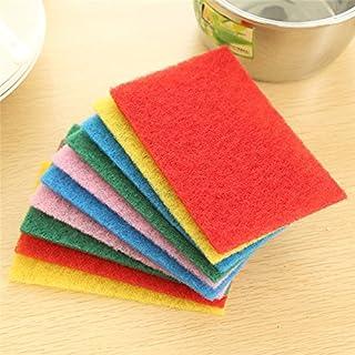 DEYARCO Princes Terry Wash Cloth 10 Pieces Set, Multi-Colour, Size 30 x 30 cm Super Soft Quick Dry Highly Absorbent