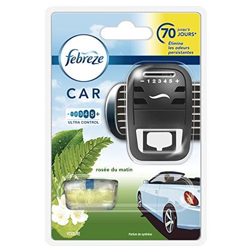 classement un comparer Febreze Car Air Freshener Morning Diffuser Kit +1 Recharge 7 ml