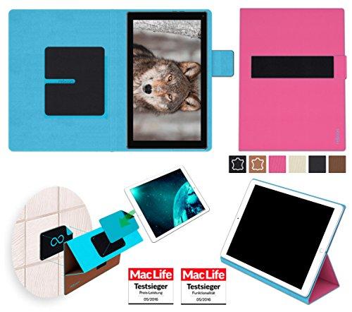 reboon Hülle für Blaupunkt Endeavour 101L Tasche Cover Case Bumper | in Pink | Testsieger