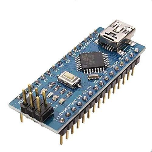 Kann die Verwendung for Arduino-Boards sein, Verbesserter 5Pcs ATmega328P Nano V3 Modul Version No Cable Development Board-Modul