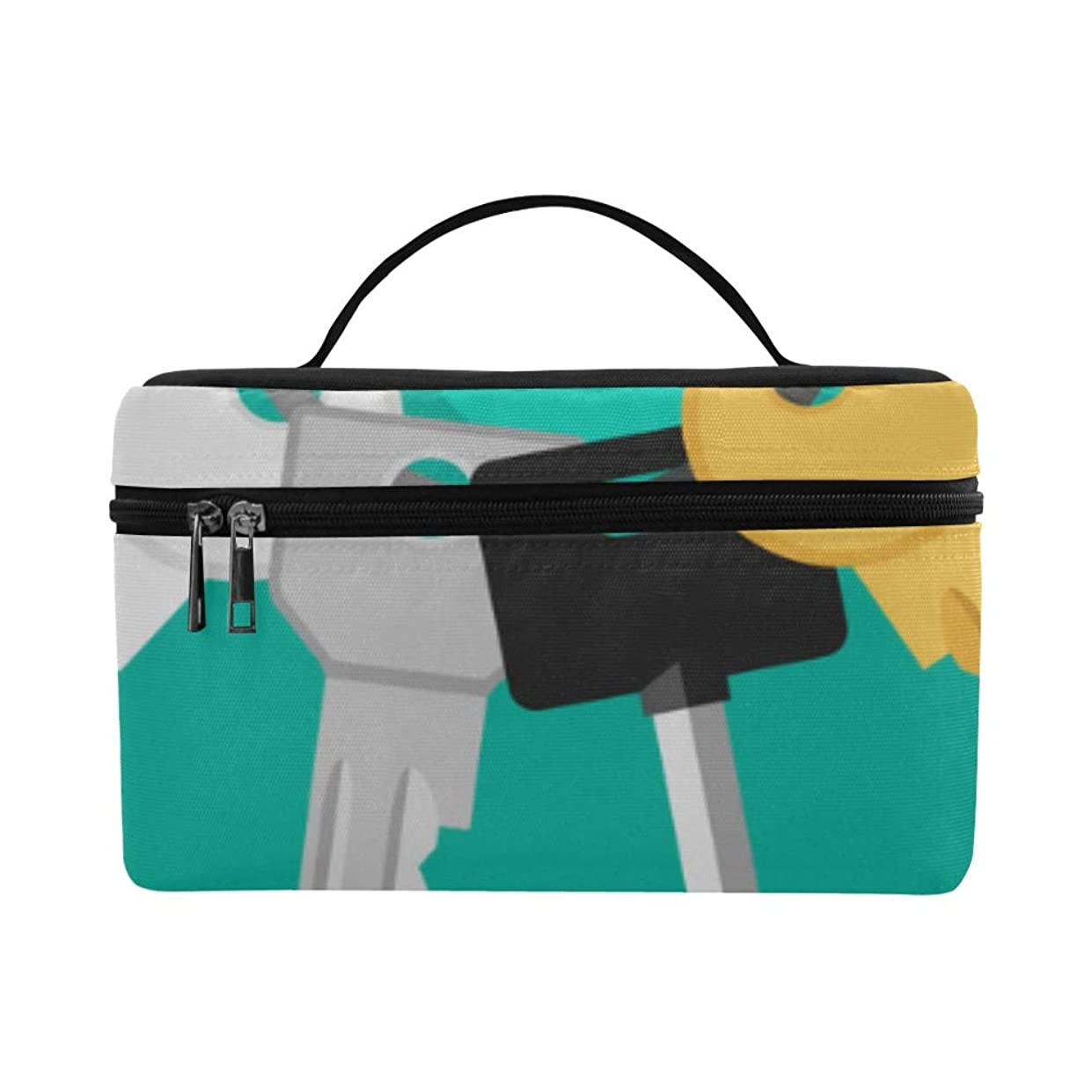 極貧自分引くGXMAN メイクボックス 鍵 コスメ収納 化粧品収納ケース 大容量 収納ボックス 化粧品入れ 化粧バッグ 旅行用 メイクブラシバッグ 化粧箱 持ち運び便利 プロ用