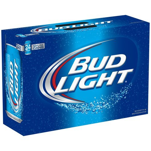 Bud Light 12oz (355mL can) - 24 Pack