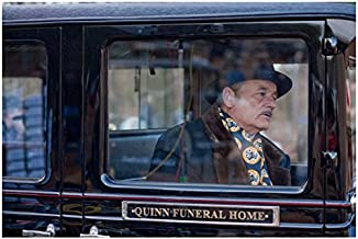 Get Low Bill Murray as Frank Quinn sitting in hearse 8 x 10 Inch Photo