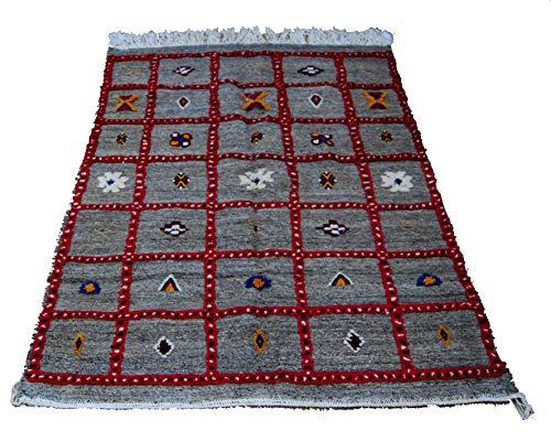 Etnico Arredo Alfombra Kilim Berbero Marruecos African original Lana TN 2207190909