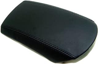 Autoguru Center Console Armrest Real Leather Cover Black for Porsche 911 996 Carrera Boxster