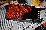 YiYi Caja de Cigarrillos, Estuche de Cigarrillos, Pitillera Automática, Colección de 10 Paquetes, Retro, Regalo, Personalidad, Talla en Madera,B,Caja