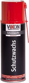 VIKON Schutzwachs Spray 400 ml   transparente Konservierung (Hohlraumversiegelung / Hohlraumkonservierung) mit Sprührohrverlängerung
