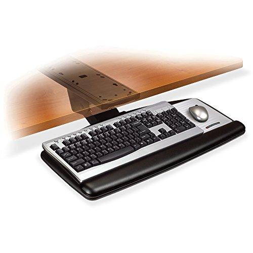 3M AKT170LE Ergonomic - Adjustable Keyboard Tray 26 1/2 x 23 x 8