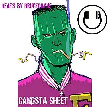 Gangsta Sheet (feat. Brucedayne) (Instrumental)