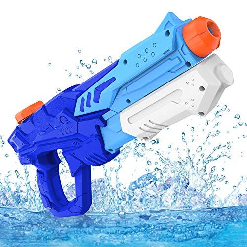 Wasserpistole Spielzeug , Spritzpistolen für Kinder Erwachsene Groß Wasserspritzpistolen 8-10 Metern Langer Reichweiter für Party Blaster Badestrand Sommer Pool Wasserballons Wasserspielzeug