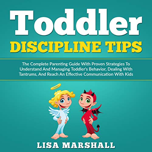 Toddler Discipline Tips audiobook cover art