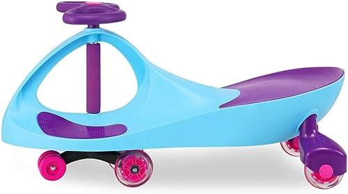 Kinder Twist Auto,Swing Car Toy Swing Wiggle Kreisel Swivel Roller Spaß Geschenk Kinder Rad Indoor Outdoor Use Silent Rad