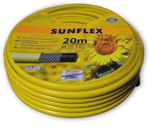 Bradas WMS3/420 Gartenschlauch Sunflex Linie, 20 m-3/4 Zoll, Gelb, 20x20x10 cm