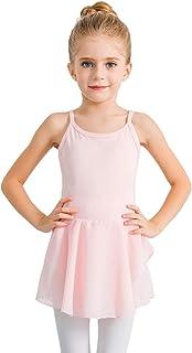 stelle 女孩棉质吊带背心连衣裙紧身连衣裤适用于舞蹈 gymnastics 和芭蕾舞鞋幼儿/小女孩 / 大女孩