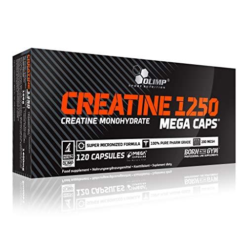 5 x Olimp Creatine 1250, 120 Mega Caps (5er Pack)