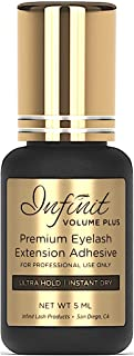 ULTRA STRONG Eyelash Extension Glue – Infinit Volume Plus Premium Eyelash Glue for..