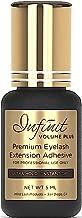 ULTRA STRONG Eyelash Extension Glue - Infinit Volume Plus Premium Eyelash Glue for Individual Eyelashes (5 ML) | 1-2 Sec Dry Time | Retention - 8 Weeks | Maximum Bond Lash Glue | Professional Use Only