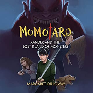 Momotaro Xander and the Lost Island of Monsters cover art
