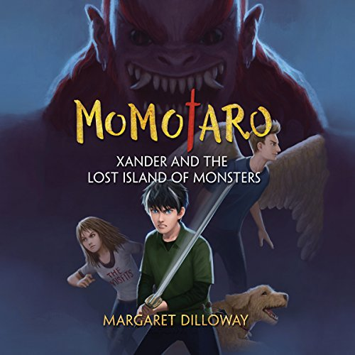 Momotaro Xander and the Lost Island of Monsters audiobook cover art