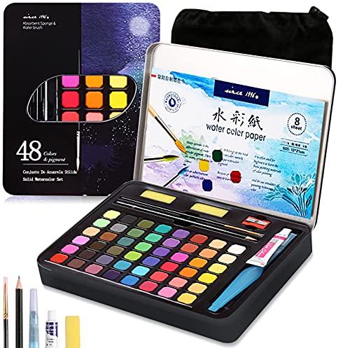 acuarelas 16 colores fabricante AVEDISTANTE