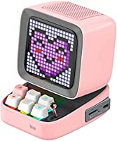 Divoom Ditoo Pixel Art Portable Speaker, Speakers Bluetooth Wireless Loud with 256 Led App Controlled Screen, Mechanical...