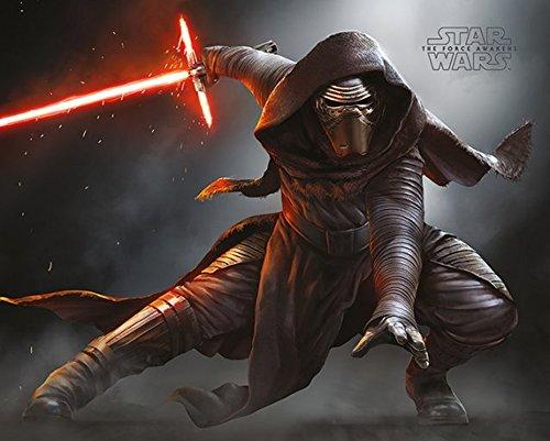 empireposter - Star Wars - EP7 Kylo Ren Crouch - Größe (cm), ca. 50x40 - Mini-Poster, NEU -