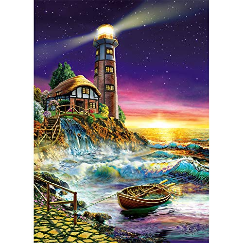 1000 piece puzzles lighthouse - 3