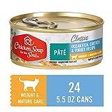 Chicken Soup for the Pet Lover's Soul Hühnersuppe Gewichtspflege für Katzen, Meeresfisch, Huhn und...