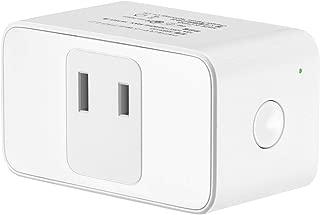 スマートプラグ wifiスマートプラグ スマート電源 Echo Alexa対応 google home 対応 MSS110 ワイヤレス コンセント 100V 直差しコンセント 音声コントロール 遠隔操作 日本語アプリ ホワイト