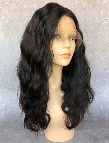 Cbwigs Glueless Brazilian Remy Body Wave Lace Front Wigs 4.5 inch Deep Parting 130% Density Free Part Human Hair Wig with Baby Hair for Women (20 inch