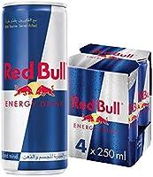 مشروب الطاقة العادي ريد بول - 250 مل (عبوة من 4)