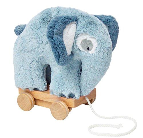 Sebra Plüsch-Nachziehtier, Fanto der Elefant, Cloud Blue