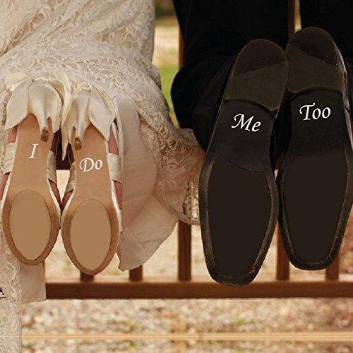 LondonSticker I DO ME Too - Vinilo extraíble para Zapatos de Boda