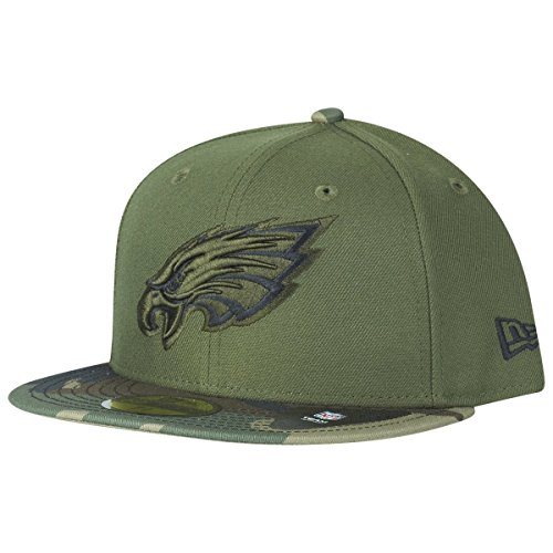 New Era - Philadelphia Eagles - New Era 59fifty Basecap - Rifle Green Collection - Green / Camouflage - 7 3/4 - 62cm (XXL)